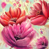 Pink & Red Delights by Anthony Christou | Diamond Painting