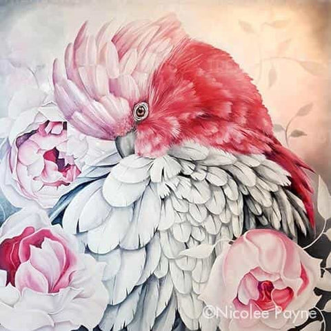 Pink on Pink by Nicolee Payne | Diamond Painting