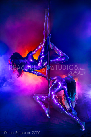 Pole Lightning by John Poppleton | Diamond Painting - Treasure Studios Art