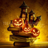 Pumpkin Book Nook | SIGNATURE |  Diamond Painting - Treasure Studios Art