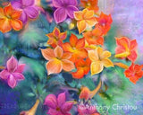 Rainbow Blooms by Anthony Christou | Diamond Painting