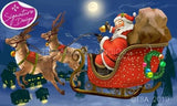 Santa is Coming! | Diamond Painting - Treasure Studios Art