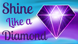 Shine Like a Diamond - You Tube logo | SIGNATURE |  Diamond Painting - Treasure Studios Art