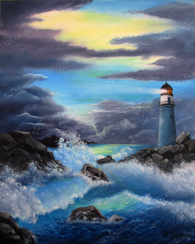 Stormy Seas by Debra Dickson | Diamond Painting