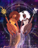 Sun & Moon Goddesses by Nystique Arts | Diamond Painting