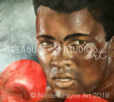 Muhammad Ali by Nicolee Payne | Diamond Painting - Treasure Studios Art