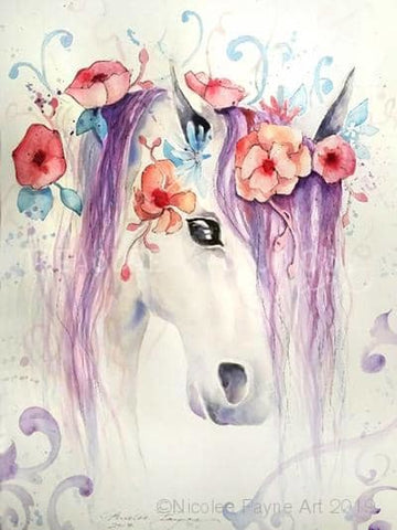 Allira Horse by Nicolee Payne | Diamond Painting - Treasure Studios Art