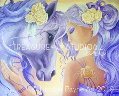 Beautiful Bond by Nicolee Payne | Diamond Painting - Treasure Studios Art