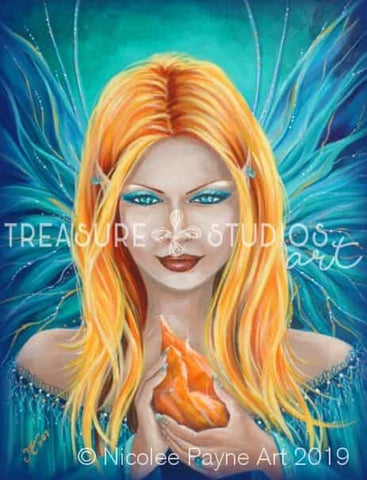 Calcite Queen by Nicolee Payne | Diamond Painting - Treasure Studios Art