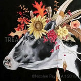 Dairy Flower Cow  by Nicolee Payne | Diamond Painting - Treasure Studios Art