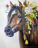 Decorative Horse by Nicolee Payne | Diamond Painting - Treasure Studios Art