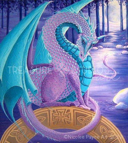 Dragon Look by Nicolee Payne | Diamond Painting - Treasure Studios Art