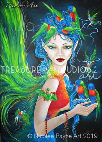 Feathered Friends by Nicolee Payne | Diamond Painting - Treasure Studios Art