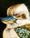 Harvey the Kookaburra by Nicolee Payne | Diamond Painting - Treasure Studios Art