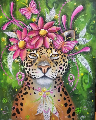 Leopard Queen by Nicolee Payne | Diamond Painting - Treasure Studios Art