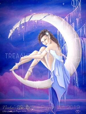 Moon Fairy by Nicolee Payne | Diamond Painting - Treasure Studios Art