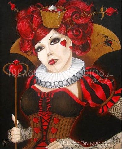 Queen of Tarts by Nicolee Payne | Diamond Painting - Treasure Studios Art