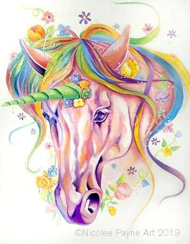 Unicorn  by Nicolee Payne | Diamond Painting - Treasure Studios Art