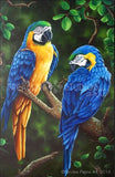 The Special Two Macaws by Nicolee Payne | Diamond Painting - Treasure Studios Art