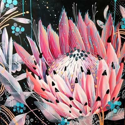 Waratah Magic by Nicolee Payne | Diamond Painting - Treasure Studios Art