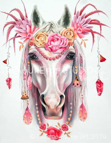 Exotic Queen by Nicolee Payne | Diamond Painting - Treasure Studios Art