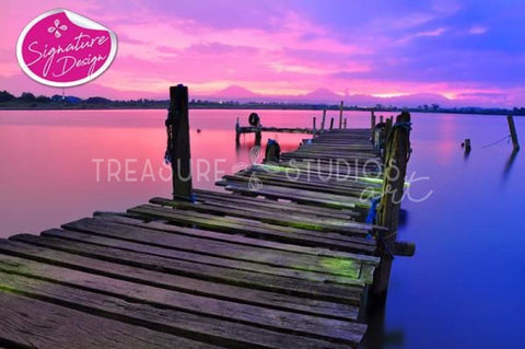 The Jetty | SIGNATURE | Diamond Painting - Treasure Studios Art