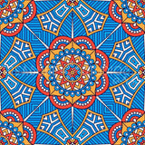 The Blue Bells Mandala by VISnezh  | Diamond Painting - Treasure Studios Art