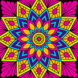 Wildflower Mandala by VISnezh  | Diamond Painting - Treasure Studios Art
