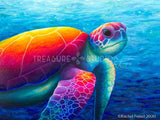 IMAGINE! Sea Turtle by Rachel Froud | Diamond Painting - Treasure Studios Art