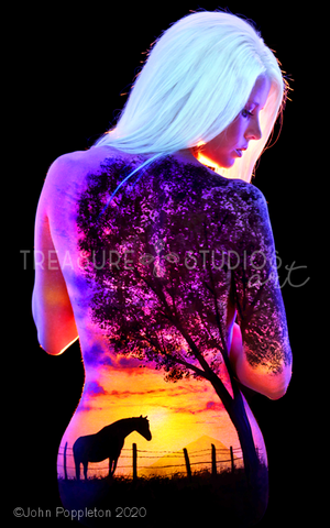 Waiting by John Poppleton | Diamond Painting - Treasure Studios Art