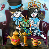 Welcome to Wonderland by Lizzy Falcon | Diamond Painting - Treasure Studios Art