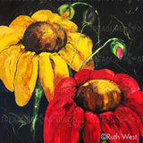 Worlds of Flowers by Ruth West | Diamond Painting