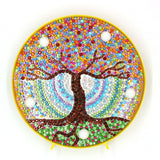 Rainbow Tree of Life | LED Light | Diamond Painting - Treasure Studios Art