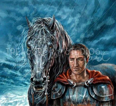 Knight Horse by Polina Bivsheva | Diamond Painting - Treasure Studios Art