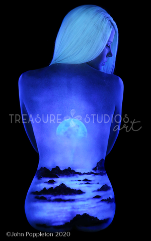 Oregon Moon John Poppleton | Diamond Painting - Treasure Studios Art