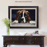 Boxer Puppy | Diamond Painting - Treasure Studios Art