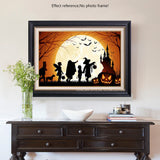 We are off to trick or Treat | Diamond Painting - Treasure Studios Art