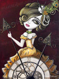 Steam Punk Clock by Lizzy Falcon | Diamond Painting