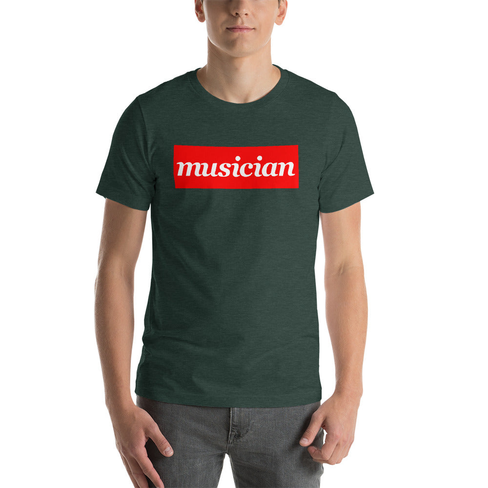 Musician Short-Sleeve Men's T-Shirt