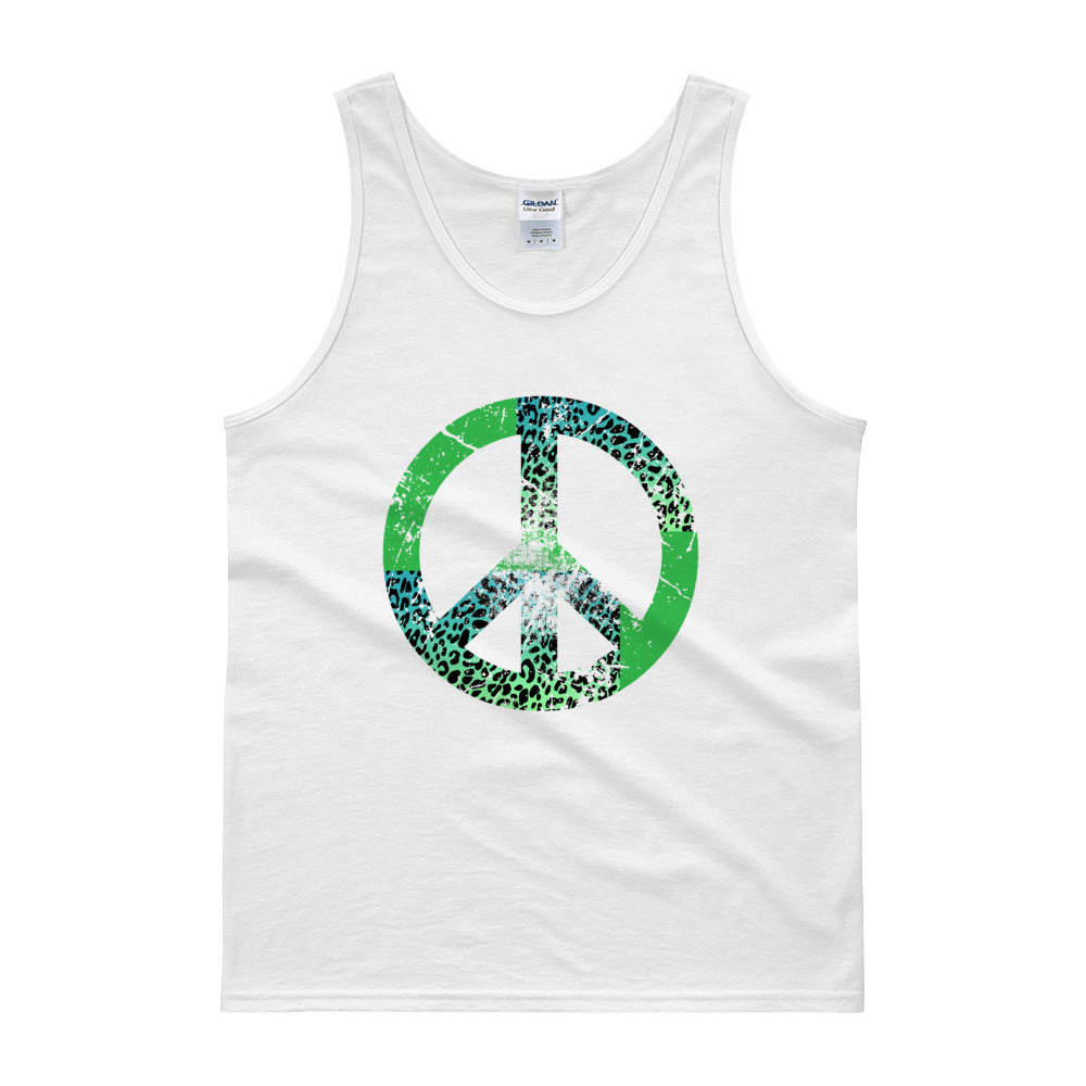 Peaceful White Tank Top