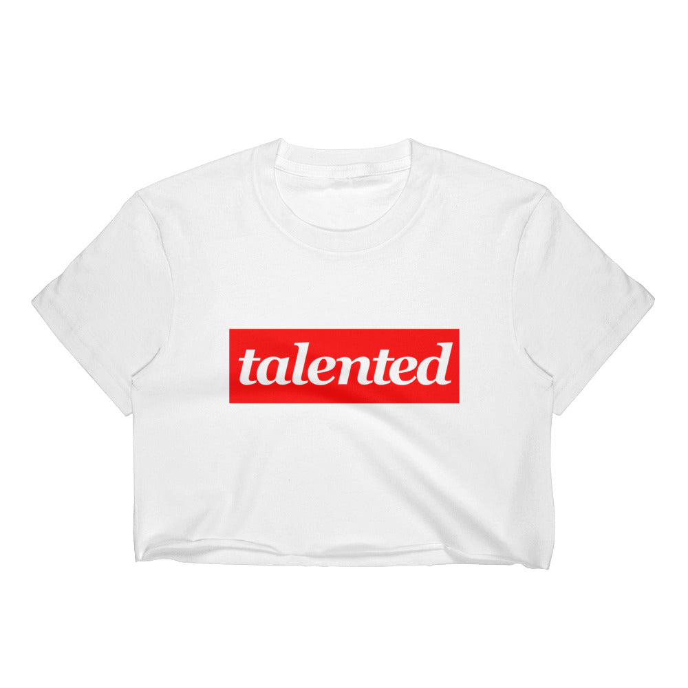 Talented Women's Crop Top