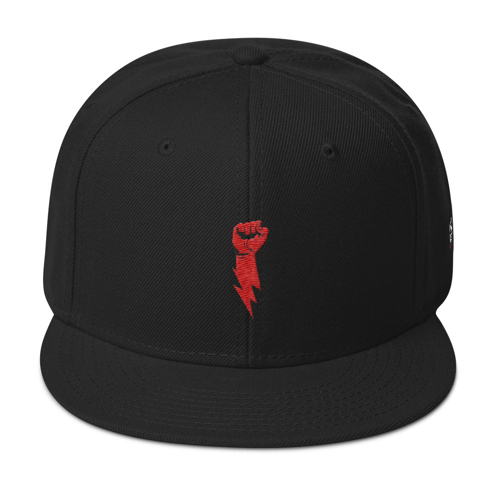 Lightning Fist Snap-back Hat