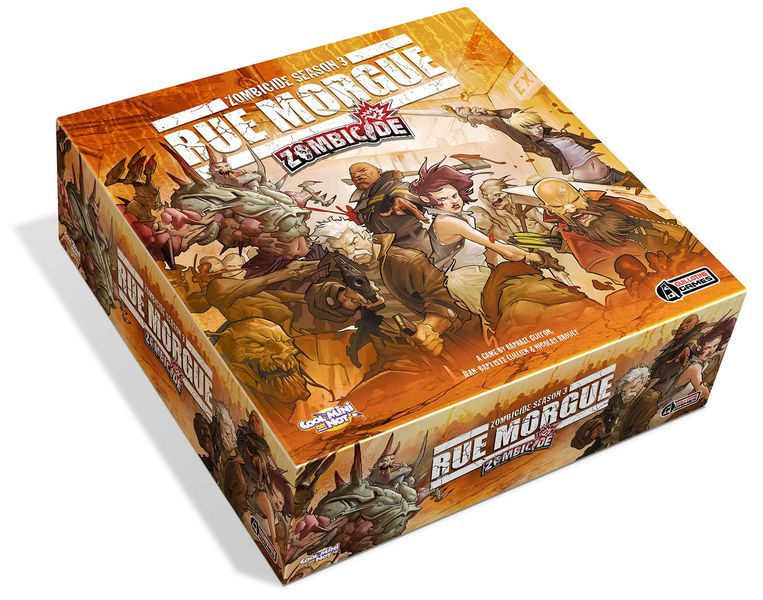 Zombicide Season 3: Rue Morgue - 7 Days Rental