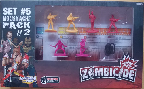 Zombicide: Set #5 Moustache Pack #2