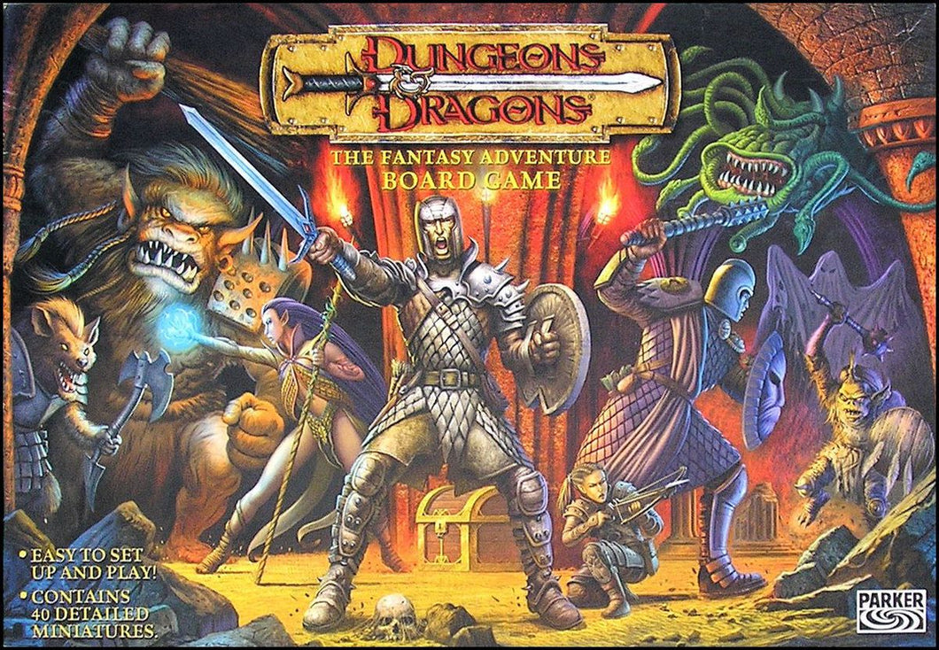 Dungeons & Dragons: The Fantasy Adventure Board Game - 7 Days Rental