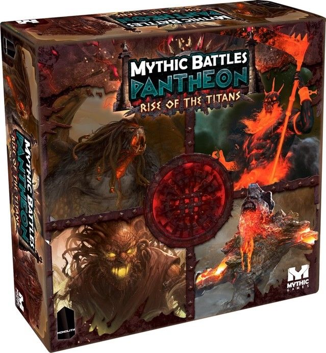 MYTHIC BATTLES PANTHEON: RISE OF THE TITANS Expansion