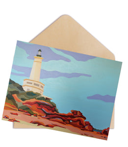 Point Lonsdale Light Greeting Card