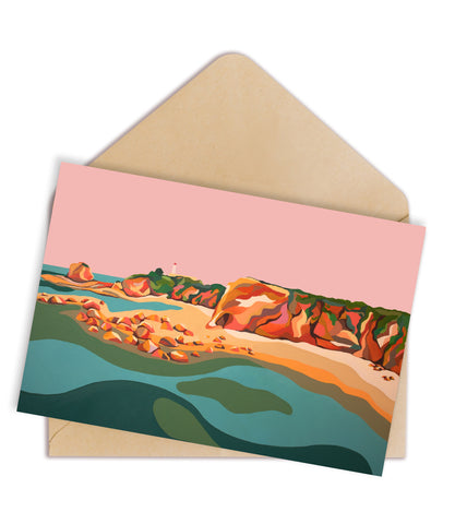 Aireys Inlet Greeting Card
