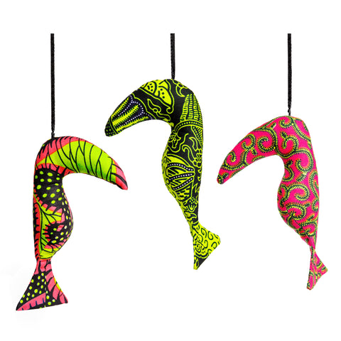Tropical Birds - Set of Three