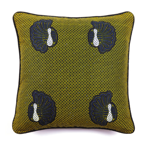 African Print Cushion - SHELLS